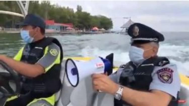 Ոստիկանության արտակարգ ծառայությունը Սևանա լճում և ափամերձ հատվածներում