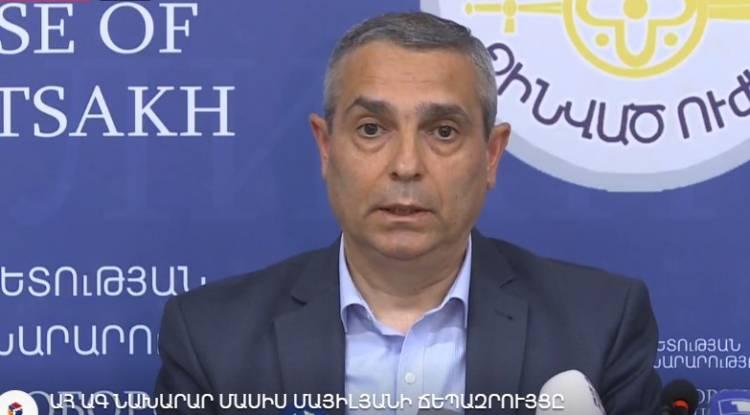 ԱՀ ԱԳ նախարար Մասիս Մայիլյանի ճեպազրույցը