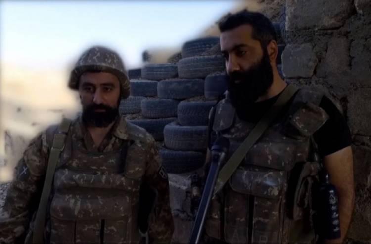 Արթուր Դանիելյանի և Կոնստանտին Տեր-Նակալյանի ուղերձը ռազմաճակատից