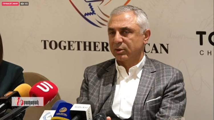 Արտակ Թովմասյանի մամուլի ասուլիսը. ուղիղ