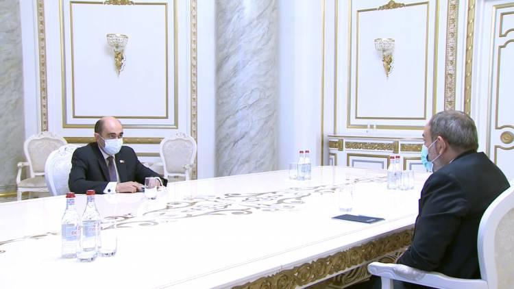 Նիկոլ Փաշինյանի և Էդմոն Մարուքյանի հանդիպումը