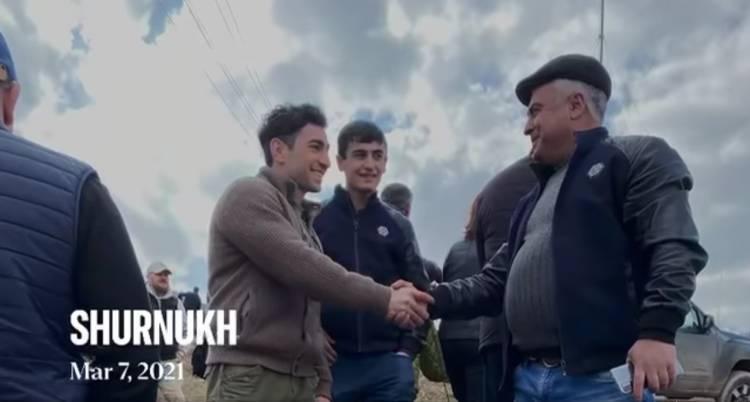 Լևոն Քոչարյանը մասնակցել է Շուռնուխում  ամենամեծ դրոշի բարձրացման արարողությանը