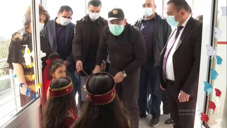 Փաշինյանը մասնակցել է Ռինդ համայնքի մանկապարտեզի բացմանը